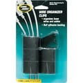 Master Products Cord Away® Wire Clips, Self-Adhesive, 6/Pack