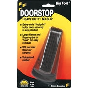 Master Caster® Door Stop, Brown