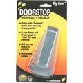 Master Caster Door Stop, Gray