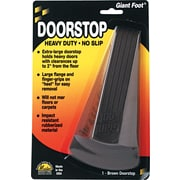 Master Caster® Door Stop, Giant Brown