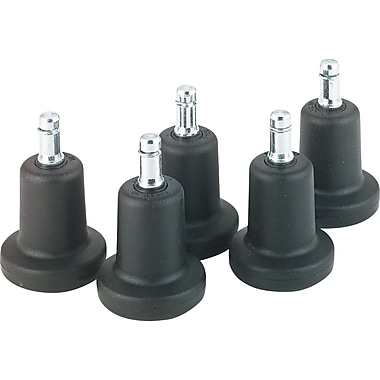Master Caster Bell Glides, High Profile, 7/16in.W with 7/8in.H Stem