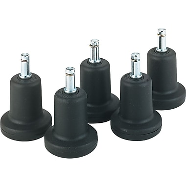 Master Caster Bell Glides, High Profile, 3/8in.W with 1in.H Stem