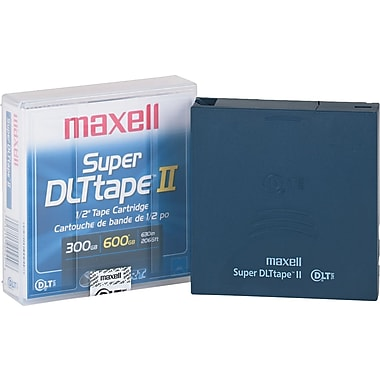 Maxell 300/600GB Super DLT II Data Cartridge