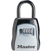 Master Lock® Portable Select Access Key Storage Lock, Black/Silver, Each (5400D)