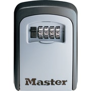 "Master Lock® Wall-Mount Lock, 4 1/2""H x 3 1/4""W x 1 3/8""D"