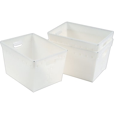 Mayline Polyethylene Mail Totes/ Pack of 3