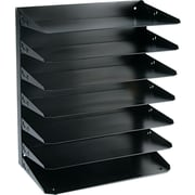 SteelMaster® Legal-Size Metal Horizontal Organizer, 7 Tiers