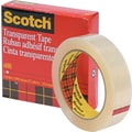 Scotch® Transparent Tape 600, 1in. x 72 yds, 3in. Core