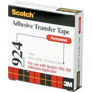 Scotch®Adhesive Transfer Tape, 3/4 roll width