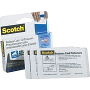 Scotch Business Card Size Self-Adhesive Laminating Pouches, 9.5 mil, 25 pack
