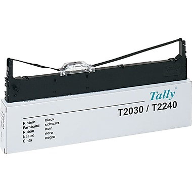 Mannesmann Tally Nylon ribbon for Tally T2030 printers, black