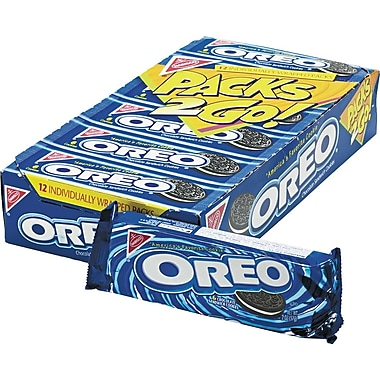 Oreo® Cookies, 12 Packs/Box