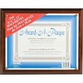 Nu-Dell Award-A-Plaques, Walnut