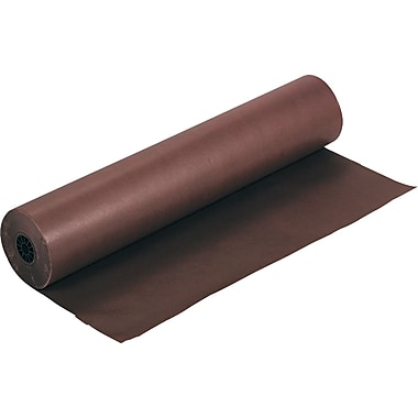 Pacon Rainbow Economy Duo-Finish Kraft Paper, 36in.W x 1000'L, Brown