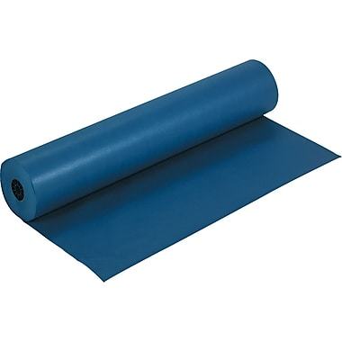Pacon Rainbow Economy Duo-Finish Kraft Paper, 36in.W x 1000'L, Dark Blue