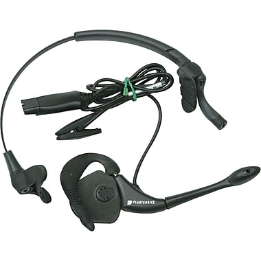 Plantronics H171N DuoPro Heavy-Duty Convertible Headset w/Noise-Canceling Mic