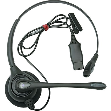 Plantronics H251N Supra Plus Monaural Headset with Noise-Canceling Mic