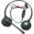 Plantronics H261N Supra Plus Binaural Headset with Noise-Canceling Mic