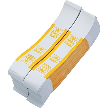 Yellow $1,000 Currency Straps