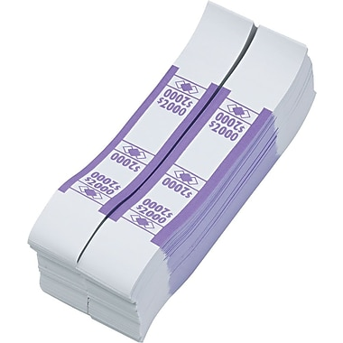Violet $2,000 Currency Straps