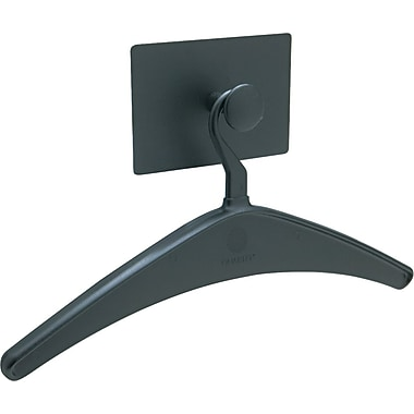 Quartet Black Plastic Magnetic Coat Hook