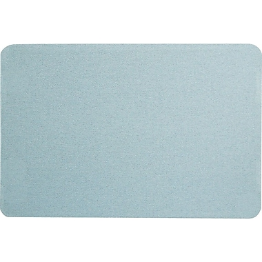 Quartet® 3' x 2' Light Blue Oval Office™ Fabric Bulletin Board