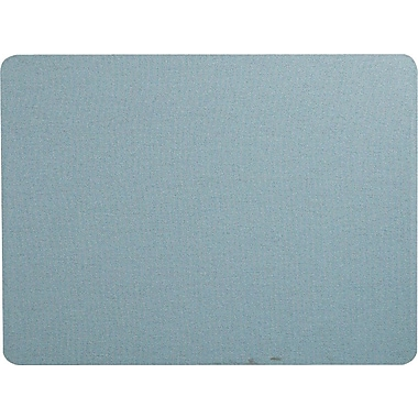 Quartet® 4' x 3' Light Blue Oval Office™ Fabric Bulletin Board