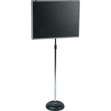 Quartet® Adjustable Pedestal Magnetic Letter Board