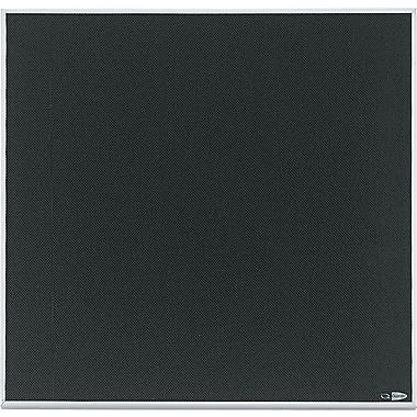 Quartet® Matrix™ Black Bulletin Board, Aluminum Frame, 23