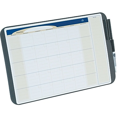 Quartet 17in. x 11in. Tack & Write Dry-Erase Monthly Calendar