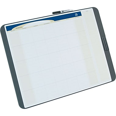 Quartet 23in. x 17in. Tack & Write Dry-Erase Monthly Calendar