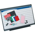 Quartet® 3' x 2' Prestige Plus® Total Erase® Porcelain Planning System with 1in. x 1in. Grid Pattern