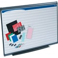 Quartet® 4' x 3' Prestige Plus® Total Erase® Porcelain Planning System with 1in. x 1in. Grid Pattern
