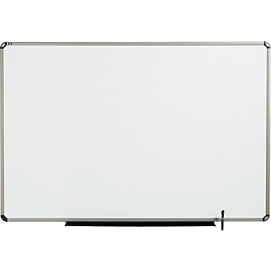 Quartet® Prestige® Total Erase® Whiteboard, 6' x 4', Euro™ Frame, Writing Grid (TE567T)