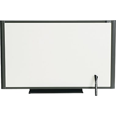 Quartet® Prestige® Total Erase® Cubicle Dry-Erase Boards with Graphite Frame