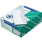 "Quality Park Gummed Recycled Business #10 Envelopes, 4 1/8"" x 9 1/2"", White, 500/Bx"