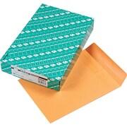 "Quality Park Redi-Seal™ Self-Seal Open-End Catalog Envelopes, 9"" x 12"", Brown, 100/Bx"
