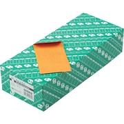 "Quality Park Gummed Kraft Coin & Small Parts Envelopes, Side Seam, #5 1/2, Light Brown, 5 1/2""W x 3 1/8""L, 500/Bx"