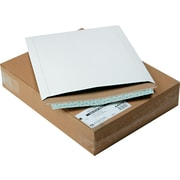 "Quality Park Redi-Strip™ Photo / Document Envelopes, 12 3/4"" x 15"", White Paperboard, 25/Bx"
