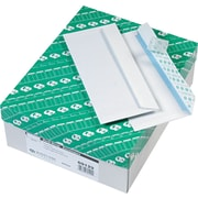 "Quality Park Redi-Strip™ Redi-Strip™ Security Tinted Business #10 Envelopes, 4 1/8"" x 9 1/2"", White, 500/Bx"