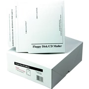 "Disk/CD Mailer, For 1 5-1/2"" Disks/2 CDs/DVDs, 6""W x 8 1/2""H"