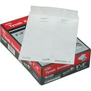 "Quality Park Self-Adhesive Tyvek Envelope, #55, 14-lb., White, 6"" x 9"", 100/Bx"