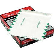"Quality Park Self-Adhesive Tyvek USPS First Class, #97, 14-lb., Green/White, 10"" x 13"", 100/Bx"