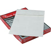 "Quality Park Tyvek® Expansion Mailers, Side Seam, #110, White, 12""W x 16""L, 25/Bx"