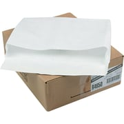 "Quality Park Flap-Stick® Lightweight Tyvek® Open-End Expansion  Envelopes, 12"" x 16"" x 2"", White, 100/Ct"