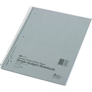"Notebook, 1 Sub, Col/Margin, 11"" x 8 7/8"", Assorted, College Ruled, 100 Sheets"