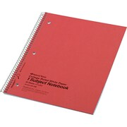 Rediform Wirebound 1-Subject Notebook, College/Margin Ruled, 11 x 8 7/8, 80 Sheets/Book