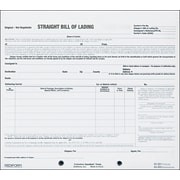 "Rediform® Snap-A-Way Bill of Lading, Triplicates, 8 1/2"" x 7"", 250 Sets per Pack"