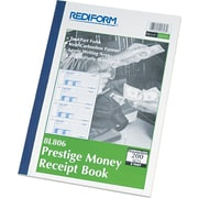 "Rediform® Receipt Books, 7"" x 2-3/4"", Soft Cover, 2 Part"