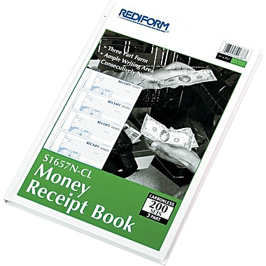 Rediform® Receipt Books, 8